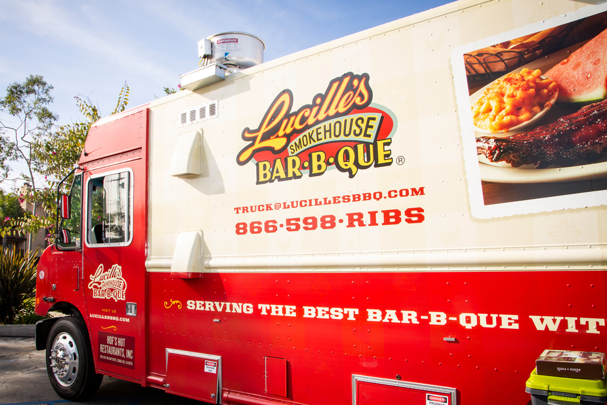 Lucille's Smokehouse BAR-B-QUE Food Truck